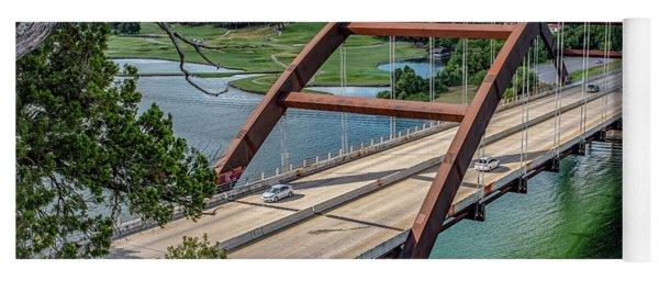 The Pennybacker Bridge Yoga Mat