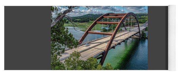 The Pennybacker Bridge Yoga Mat