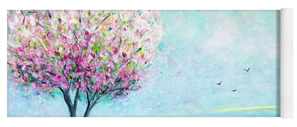 The Pink Tree Yoga Mat