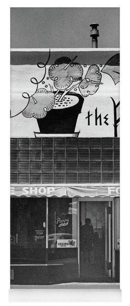The Poppy, Coffee Shop, Fountain, Alvarado Street, Monterey Circ Yoga Mat