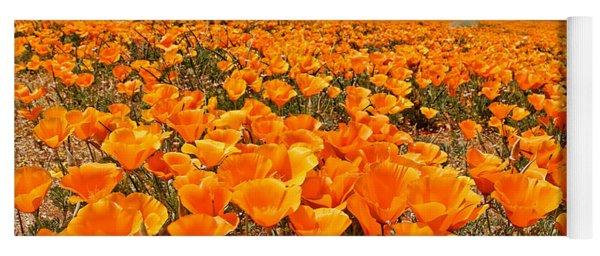 The Poppy Fields - Antelope Valley Yoga Mat