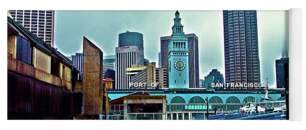 The Port Of San Francisco Yoga Mat