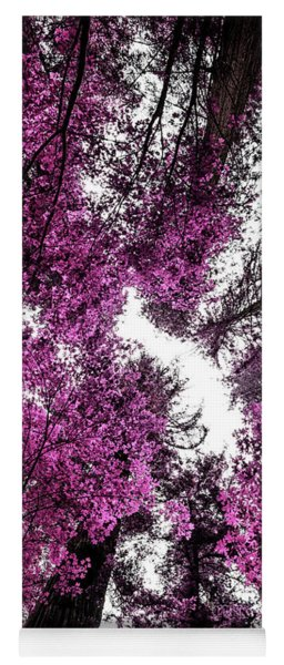 The Purple Forest Yoga Mat