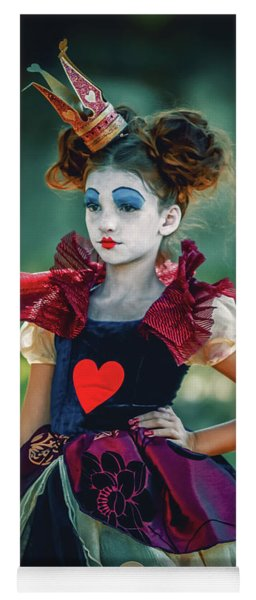 The Queen Of Hearts Alice In Wonderland Yoga Mat