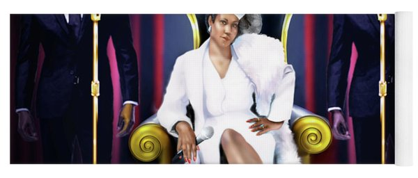 The Queen Of Soul Yoga Mat