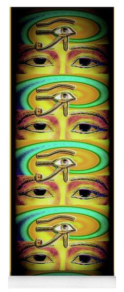 The Ra Emanation Yoga Mat