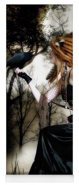 The Raven Yoga Mat