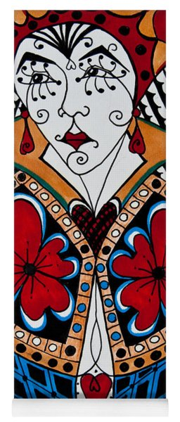 The Red Queen Yoga Mat