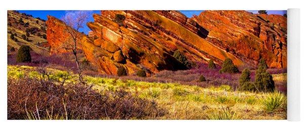 The Red Rock Park Vi Yoga Mat