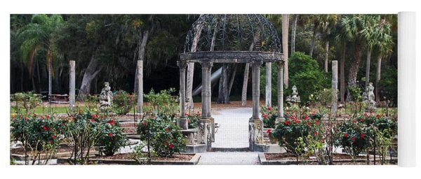 The Ringling Rose Garden Yoga Mat