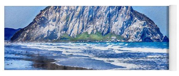 Morro Rock Canvas Print,photographic Print,art Print,framed Print,greeting Card,iphone Case, Yoga Mat