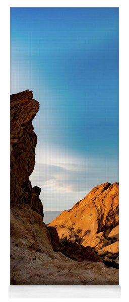 The Rocks Of Vasquez Yoga Mat