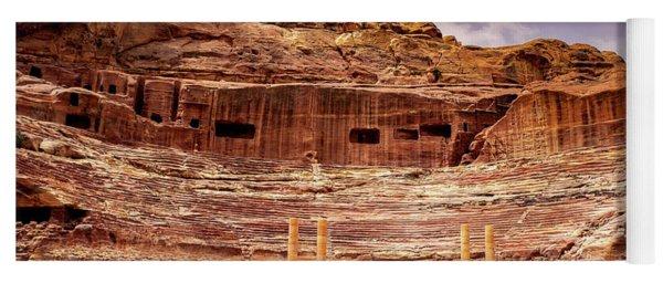 The Roman Theater At Petra Yoga Mat