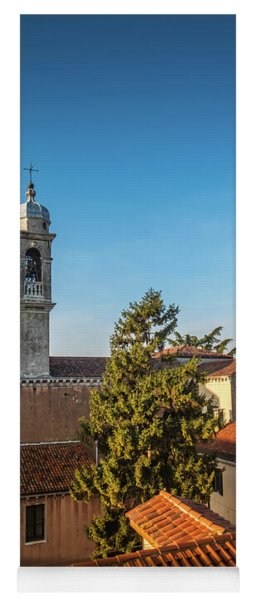 The Roofs Of Venice Yoga Mat