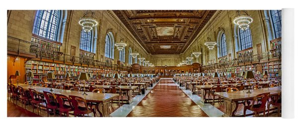 The Rose Main Reading Room Nypl Yoga Mat
