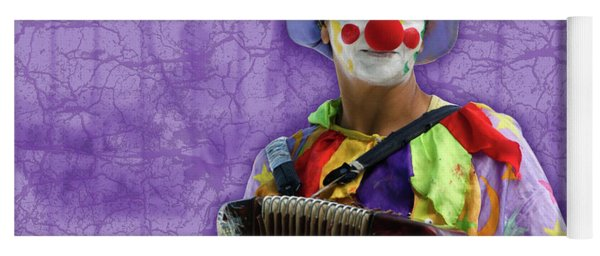 The Sad Clown Yoga Mat