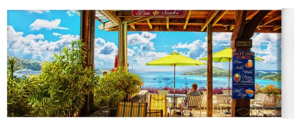 The Salty Dog Cafe St. Thomas Yoga Mat