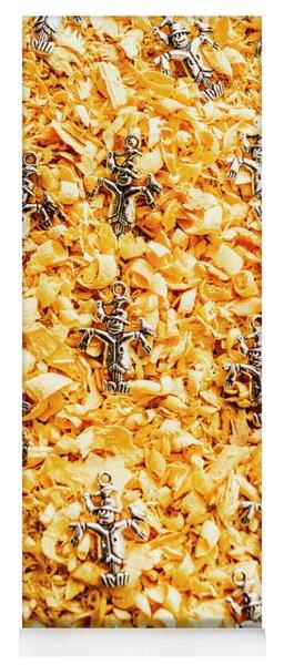 The Scarecrow Strawmen Yoga Mat