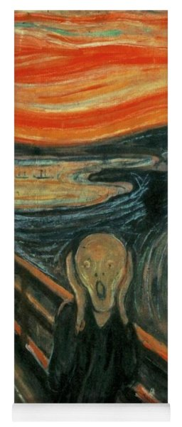 The Scream  Yoga Mat