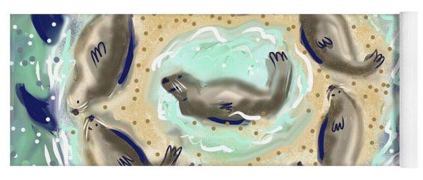 The Seals Of Chatham Bars Yoga Mat