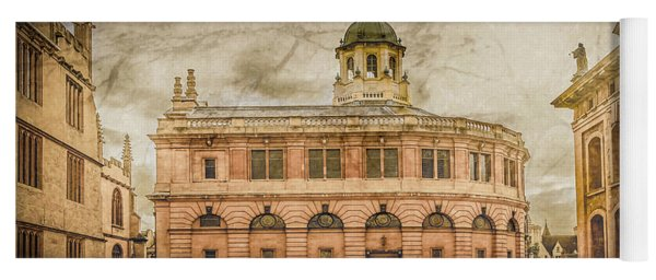 Oxford, England - The Sheldonian Theater Yoga Mat