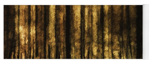 The Silent Woods Yoga Mat