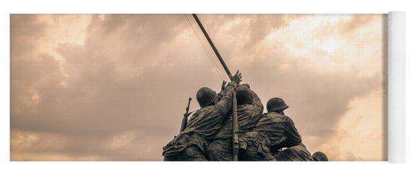 The Skies Over Iwo Jima Yoga Mat