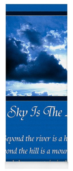 The Sky Is The Limit Yoga Mat