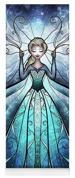 The Snow Queen Yoga Mat