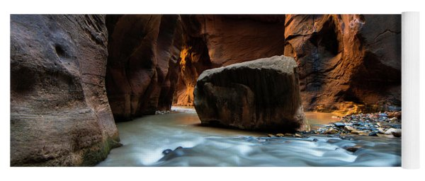 The Split Rock - Virgin River Narrows Yoga Mat
