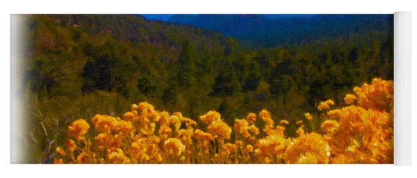 The Spring Mountains Yoga Mat
