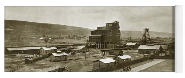 The Stanton Colliery Empire St. The Heights Wilkes Barre Pa Early 1900s Yoga Mat