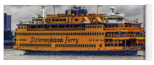 The Staten Island Ferry Yoga Mat