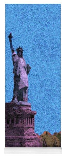 The Statue Of Liberty Island Yoga Mat