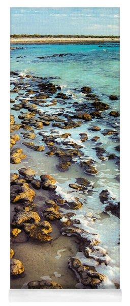 The Stromatolite Family Enjoying Its 1277500000000th Sunset Yoga Mat