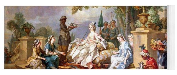 The Sultana Served By Her Eunuchs Yoga Mat