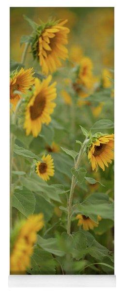 The Sunflower Patch Yoga Mat