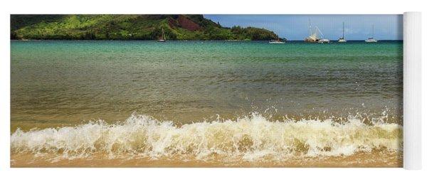 The Surf At Hanalei Bay Yoga Mat