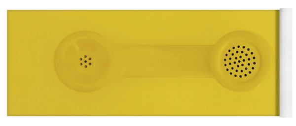 The Telephone Handset Yoga Mat