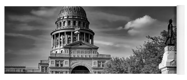 The Texas State Capitol Yoga Mat