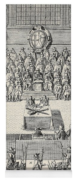 The Trial Of Charles I Yoga Mat