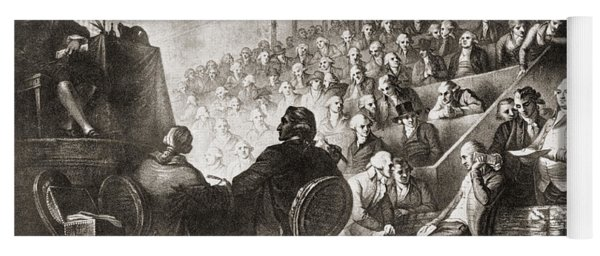 The Trial Of Louis Xvi At The National Yoga Mat