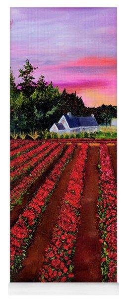 The Tulip Farm Yoga Mat