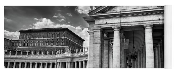 The Tuscan Colonnades In The Vatican Yoga Mat