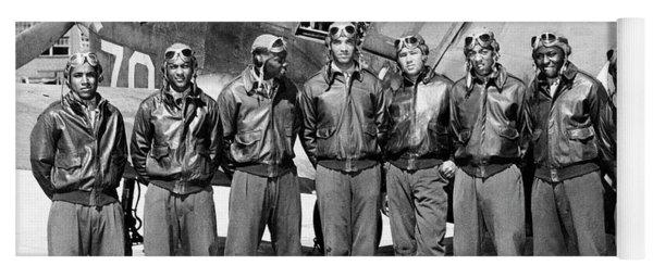 The Tuskegee Airmen Circa 1943 Yoga Mat