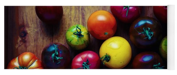 The United Colors Of Tomatoes Yoga Mat