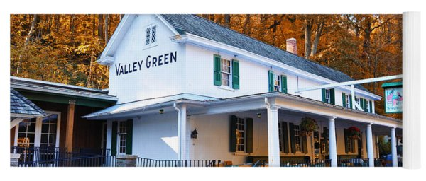 The Valley Green Inn In Autumn Yoga Mat
