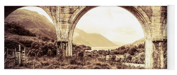The Viaduct And The Loch Yoga Mat