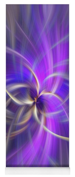 The Violet Flame. Spirituality Yoga Mat
