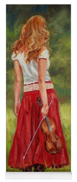 The Violinist Yoga Mat